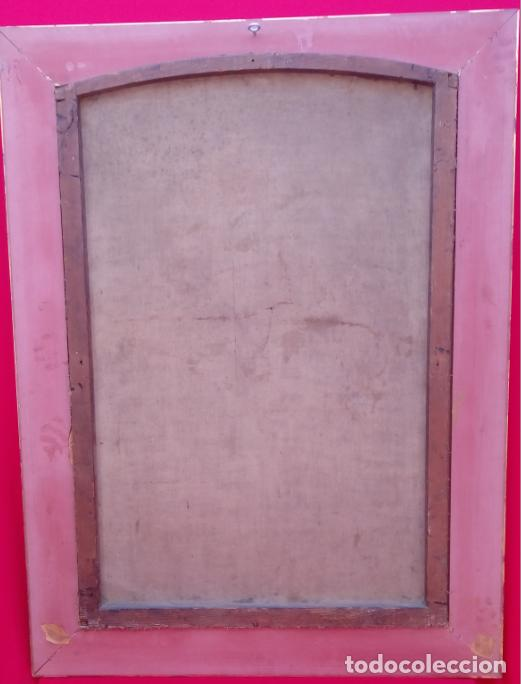 Arte: ÓLEO S/LIENZO -FRAY DIEGO DE ALCALÁ-, S. XVII. ATRIBUÍDO A MATÍAS ARTEAGA -O A SU TALLER-112.5X84.5 - Foto 16 - 224385347