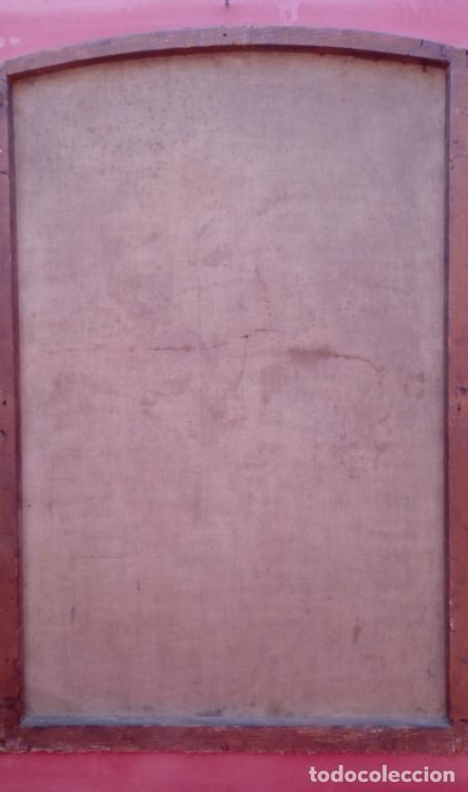 Arte: ÓLEO S/LIENZO -FRAY DIEGO DE ALCALÁ-, S. XVII. ATRIBUÍDO A MATÍAS ARTEAGA -O A SU TALLER-112.5X84.5 - Foto 17 - 224385347