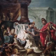 Arte: JUDITH Y HOLOFERNES,SIGLO XIX, ESCUELA ITALIANA. Lote 224395757