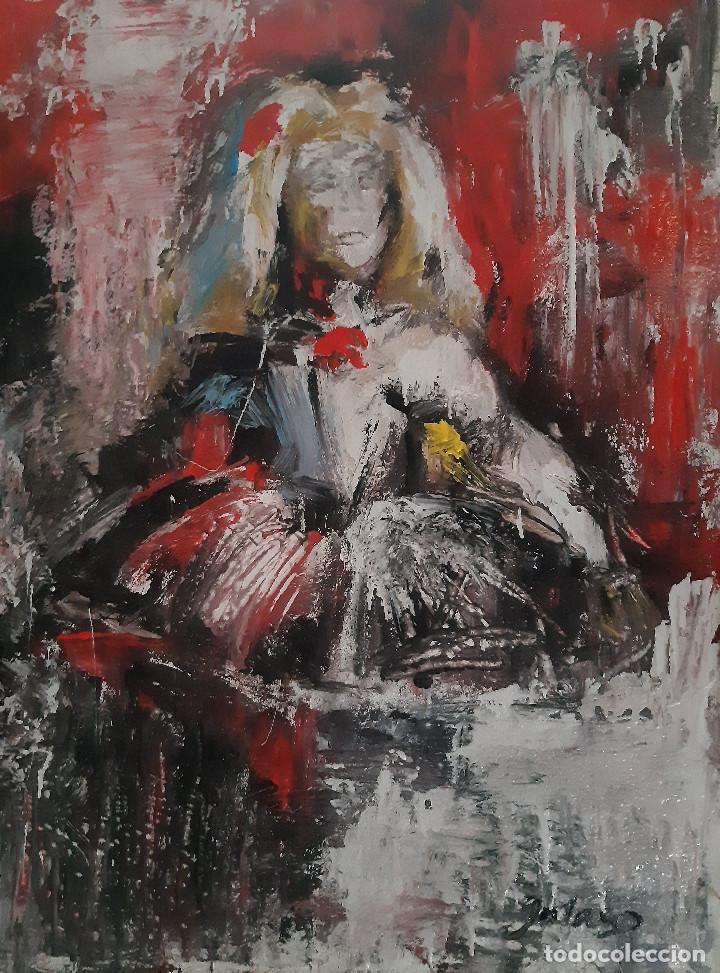MENINA (Arte - Pintura - Pintura al Óleo Contemporánea )