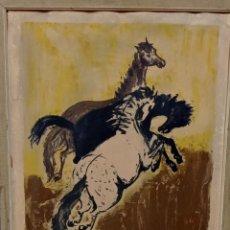 Arte: ÓLEO SOBRE LIENZO FIRMADO DESCONOCIDO AÑO 1952. Lote 224578265