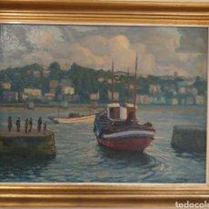 Arte: OLEO DE FELIPE EMPERADOR- A LA MAR-. Lote 224628443