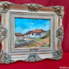Arte: VIEJOS CUADROS AL ÓLEO DE ANGUSTIA DE PEREZ. Lote 224664140