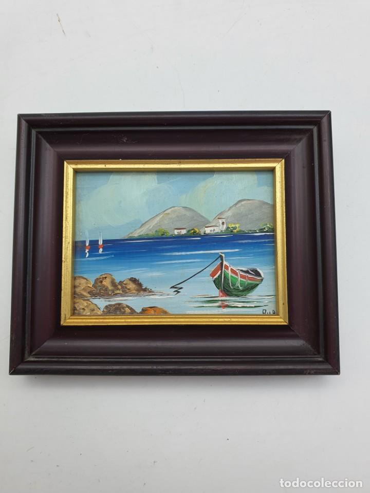 PEQUEÑO CUADRO ÒLEO SOBRE CARTÓN (Arte - Pintura - Pintura al Óleo Contemporánea )