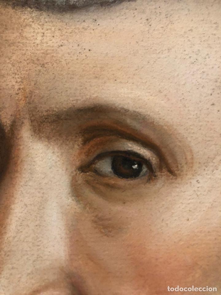 Arte: Maurice Mouton ( Etuz, 1765 - Besancon, 1840?) Retrato de maestro ceramista - Foto 6 - 224856311