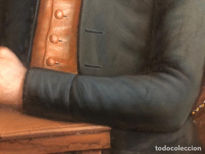 Arte: Maurice Mouton ( Etuz, 1765 - Besancon, 1840?) Retrato de maestro ceramista - Foto 9 - 224856311