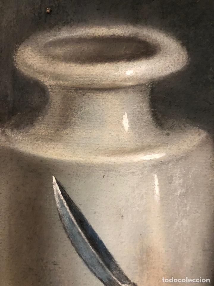 Arte: Maurice Mouton ( Etuz, 1765 - Besancon, 1840?) Retrato de maestro ceramista - Foto 10 - 224856311