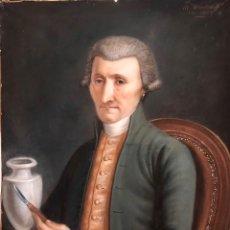Arte: MAURICE MOUTON ( ETUZ, 1765 - BESANCON, 1840?) RETRATO DE MAESTRO CERAMISTA. Lote 224856311