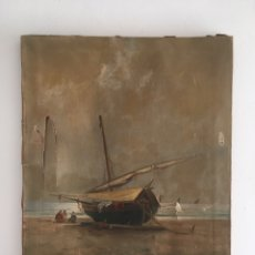 Arte: SEGUNDO MATILLA Y MARINA ( MADRID 1862-BARCELONA 1937) ÓLEO DE TEMÁTICA PAISAJISTICA. Lote 224858227