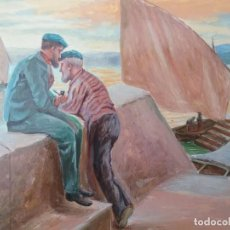 Arte: PINTURA AL ÓLEO (?) A. M. (A.MARTINEZ) AÑO 1907. Lote 224898838