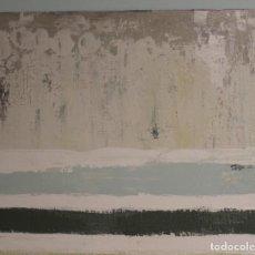 Arte: SEDIMENTOS. CARIDAD SICILIA,ACRÍLICO SOBRE TABLA,DIMENSIONES 80 X 90 CM.. Lote 224987030