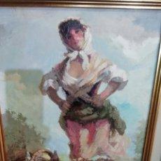 Arte: TOMÁS F PECES PINTOR TOLEDANO PINTURA. Lote 225136775