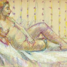 Arte: CASIMIRO MARTÍNEZ TARRASSÓ (BARCELONA, 1898-1980) - DESNUDO TUMBADO.MIXTA.FIRMADO.. Lote 224865692