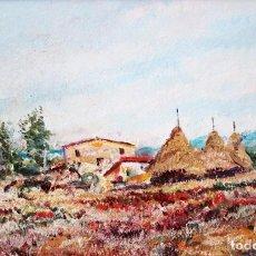 Arte: RAMÓN DE CAPMANY Y MONTANER (1899 - 1992) OLEO SOBRE TELA DEL AÑO 1977. PAISAJE. Lote 225387390