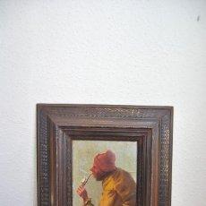 Arte: MAGNÍFICO ÓLEO HOLANDÉS - RETRATO DE HOMBRE - MARINERO FUMANDO EN PIPA - PESCADOR - SIGLO XVIII. Lote 225501405