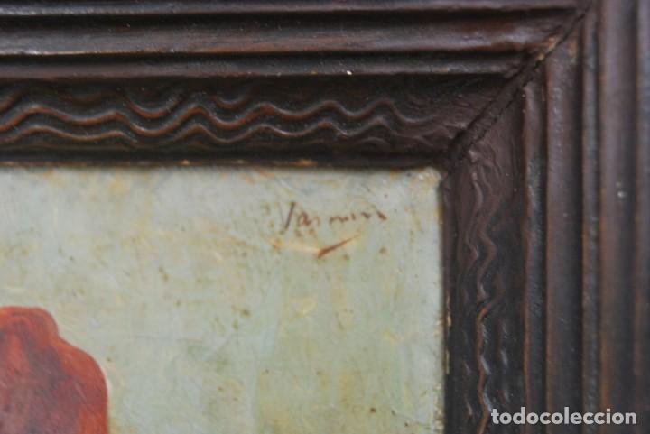 Arte: MAGNÍFICO ÓLEO HOLANDÉS - RETRATO DE HOMBRE - MARINERO FUMANDO EN PIPA - PESCADOR - SIGLO XVIII - Foto 21 - 225501405