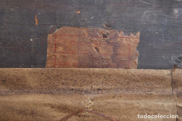 Arte: MAGNÍFICO ÓLEO HOLANDÉS - RETRATO DE HOMBRE - MARINERO FUMANDO EN PIPA - PESCADOR - SIGLO XVIII - Foto 25 - 225501405