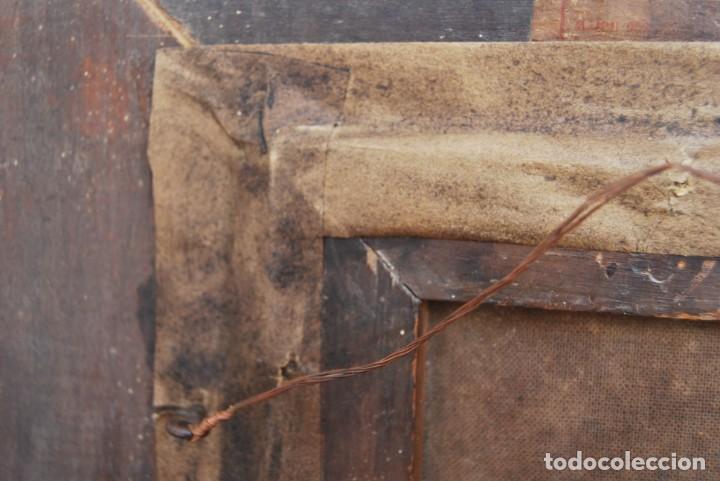 Arte: MAGNÍFICO ÓLEO HOLANDÉS - RETRATO DE HOMBRE - MARINERO FUMANDO EN PIPA - PESCADOR - SIGLO XVIII - Foto 27 - 225501405