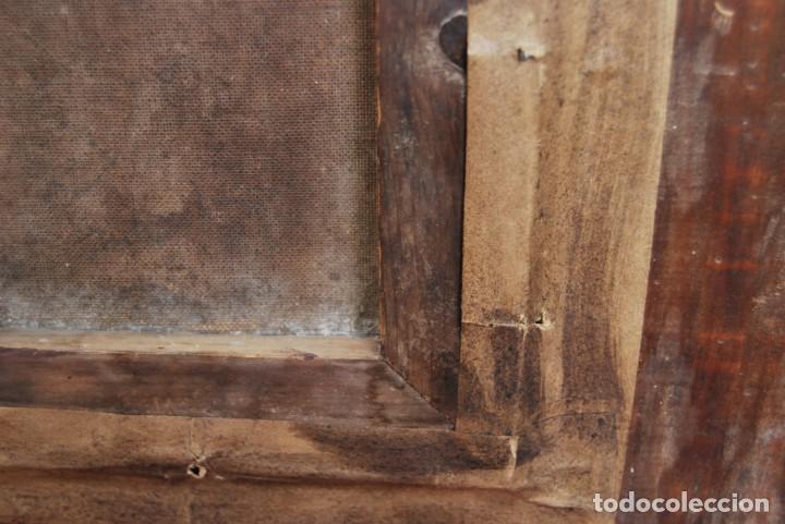 Arte: MAGNÍFICO ÓLEO HOLANDÉS - RETRATO DE HOMBRE - MARINERO FUMANDO EN PIPA - PESCADOR - SIGLO XVIII - Foto 29 - 225501405