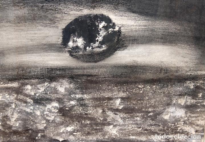 TERESA LAZARO BERNADAS (BARCELONA, 1912 – GIRONA, 2004) TECNICA MIXTA. SIN TITULO (Arte - Pintura - Pintura al Óleo Contemporánea )