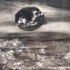 Arte: TERESA LAZARO BERNADAS (BARCELONA, 1912 – GIRONA, 2004) TECNICA MIXTA. SIN TITULO. Lote 225707561