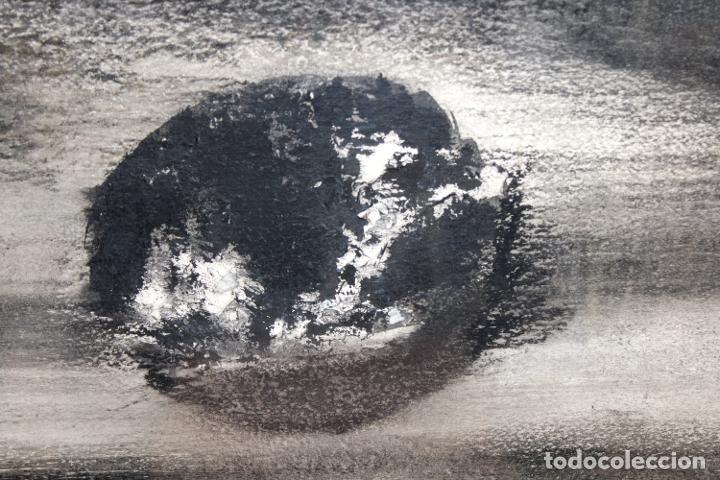 Arte: TERESA LAZARO BERNADAS (Barcelona, 1912 – Girona, 2004) TECNICA MIXTA. SIN TITULO - Foto 4 - 225707561