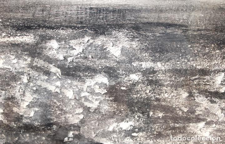 Arte: TERESA LAZARO BERNADAS (Barcelona, 1912 – Girona, 2004) TECNICA MIXTA. SIN TITULO - Foto 5 - 225707561