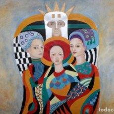 Arte: MARGARITA VENEGAS BALMACEDA (SANTIAGO DE CHILE, 1973) ACRILICO SOBRE LIENZO. 89 X 130 CM.. Lote 225709170