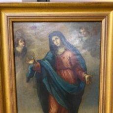 Arte: DOLOROSA ESCUELA MEXICANA S. XVIII COBRE. Lote 226033135