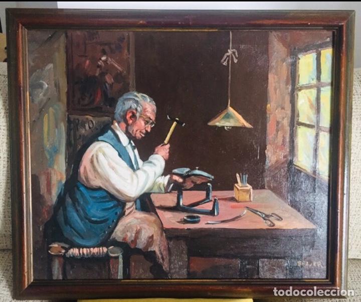 ZAPATERO. IGNACIO BELLER (Arte - Pintura - Pintura al Óleo Contemporánea )