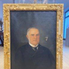 Arte: RETRATO CABALLERO AUGUSTO MANUEL DE QUESADA 1887. Lote 226061065