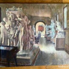 Arte: ANTIGUA PINTURA IMPRESIONISTA, OLEO SOBRE LIENZO ,SALA DEL ANTIGUO MUSEO DE BELLAS ARTES DE VALENCIA. Lote 226107135