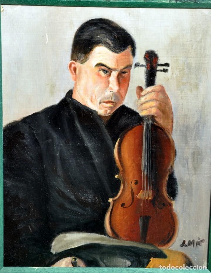 MAGNÍFICO ÓLEO FIRMADO J.MIR (Arte - Pintura - Pintura al Óleo Contemporánea )