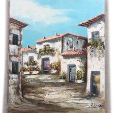 Arte: PINTURA ORIGINAL AL OLEO SOBRE LIENZO 46X55. Lote 226218965