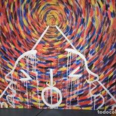 Arte: ¡¡ ABSTRACTO, ESPIRAL DE COLORES, FIRMADO. !!. Lote 226237161