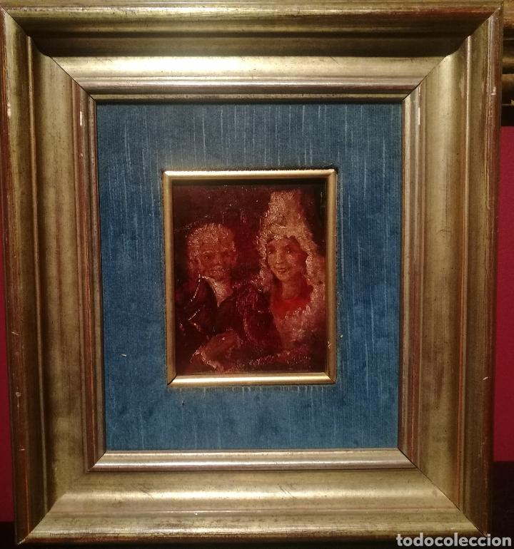 ESCUELA GOYESCA. S.XIX. (Arte - Pintura - Pintura al Óleo Moderna siglo XIX)