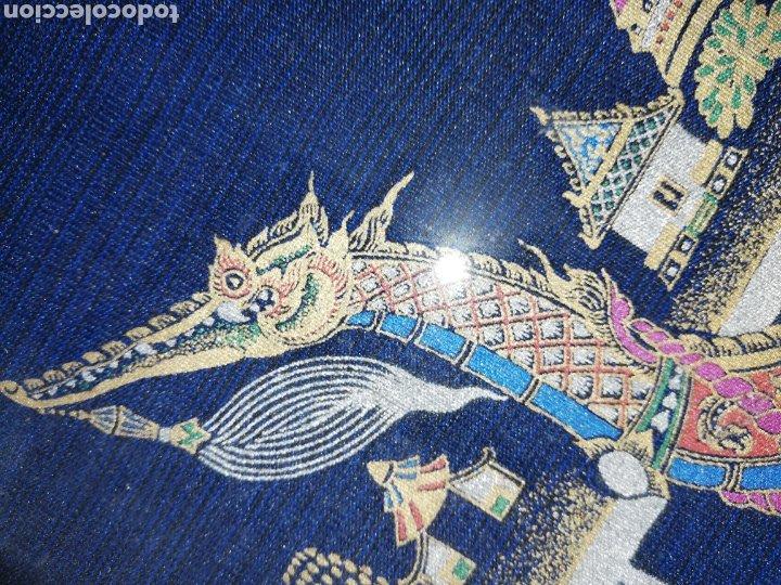 Arte: Cuadro pintado en oleo.. Enmarcado con doble marcó y cristal.. - Foto 3 - 226685515