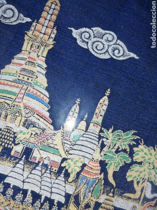 Arte: Cuadro pintado en oleo.. Enmarcado con doble marcó y cristal.. - Foto 4 - 226685515