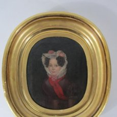 Arte: ANTONIO MARÍA ESQUIVEL (SEVILLA 1806- MADRID 1857) - RETRATO AL ÓLEO - CONDESA DE VIADRINA. Lote 226769130
