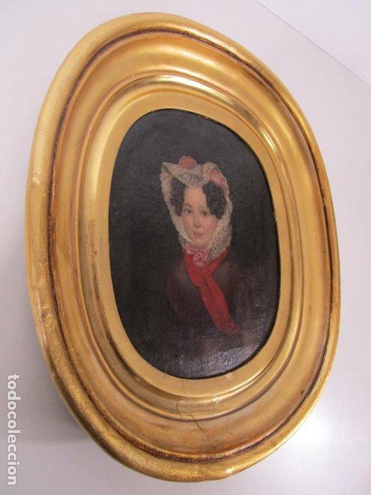 Arte: Antonio María Esquivel (Sevilla 1806- Madrid 1857) - Retrato al Óleo - Condesa de Viadrina - Foto 3 - 226769130