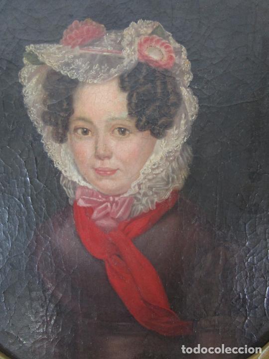Arte: Antonio María Esquivel (Sevilla 1806- Madrid 1857) - Retrato al Óleo - Condesa de Viadrina - Foto 5 - 226769130