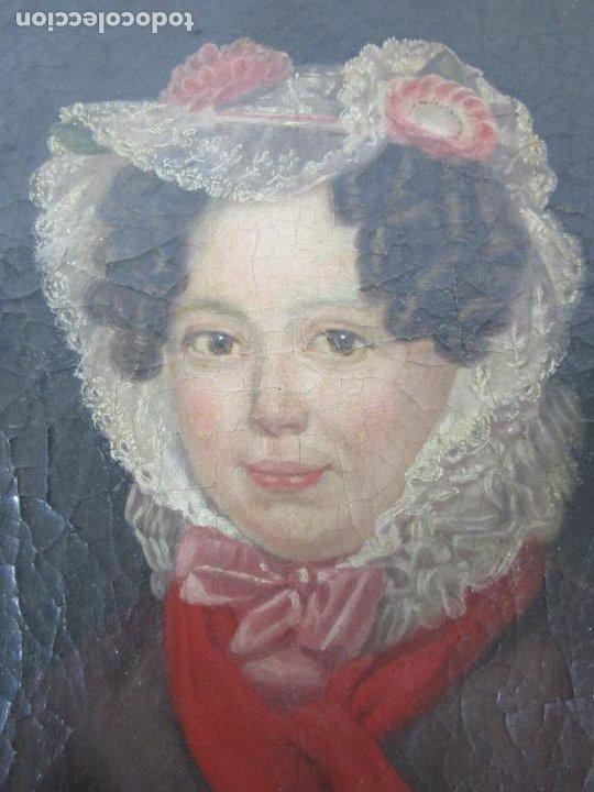 Arte: Antonio María Esquivel (Sevilla 1806- Madrid 1857) - Retrato al Óleo - Condesa de Viadrina - Foto 7 - 226769130