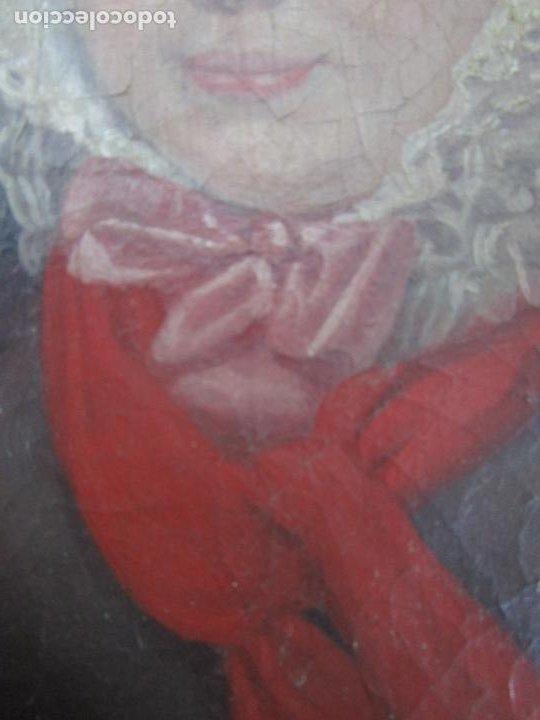 Arte: Antonio María Esquivel (Sevilla 1806- Madrid 1857) - Retrato al Óleo - Condesa de Viadrina - Foto 8 - 226769130