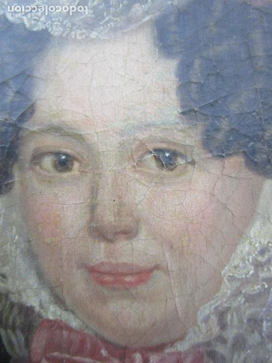 Arte: Antonio María Esquivel (Sevilla 1806- Madrid 1857) - Retrato al Óleo - Condesa de Viadrina - Foto 9 - 226769130