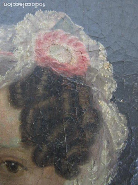 Arte: Antonio María Esquivel (Sevilla 1806- Madrid 1857) - Retrato al Óleo - Condesa de Viadrina - Foto 11 - 226769130