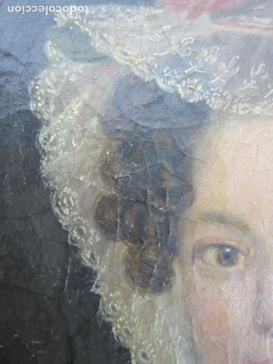 Arte: Antonio María Esquivel (Sevilla 1806- Madrid 1857) - Retrato al Óleo - Condesa de Viadrina - Foto 12 - 226769130