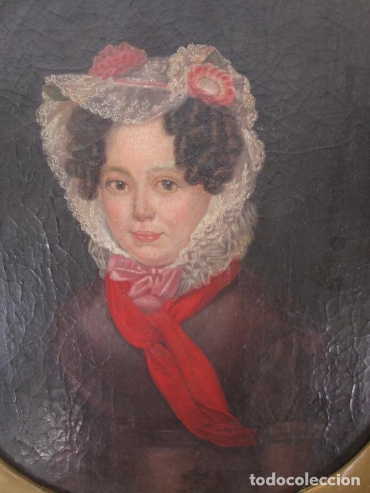 Arte: Antonio María Esquivel (Sevilla 1806- Madrid 1857) - Retrato al Óleo - Condesa de Viadrina - Foto 14 - 226769130