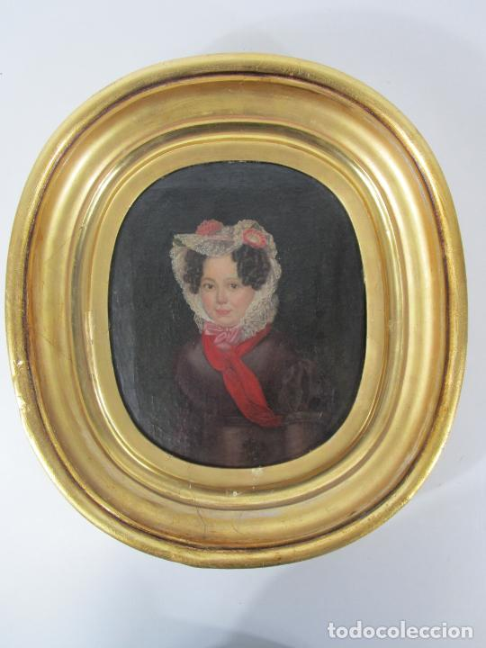 Arte: Antonio María Esquivel (Sevilla 1806- Madrid 1857) - Retrato al Óleo - Condesa de Viadrina - Foto 16 - 226769130
