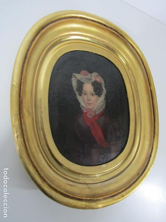 Arte: Antonio María Esquivel (Sevilla 1806- Madrid 1857) - Retrato al Óleo - Condesa de Viadrina - Foto 17 - 226769130