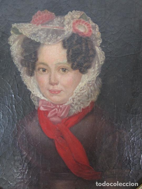Arte: Antonio María Esquivel (Sevilla 1806- Madrid 1857) - Retrato al Óleo - Condesa de Viadrina - Foto 30 - 226769130